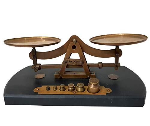 Antique Home Decorative Brass Scale Nostalgic