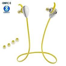 Wireless Sports Earphones,X13 Bluetooth 4.1 Fashion Sport Running Headphones Wireless Stereo Handsfree Headset Sport Headphones Sweatproof Noise Cancelling Earphone W/ Mic