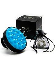 PALOTO® [Origineel] Premium shampoo borstel - siliconen hoofdmassageborstel voor handmatige wellness-hoofdhuid massage - gratis vingermassagering - stimuleert de haargroei, werkt tegen roos