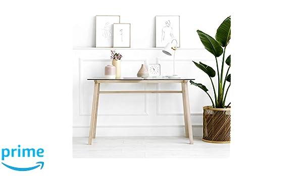Kenay Home Escritorio Natural Vime, 60x120x76cm (LargoxAnchoxAlto ...