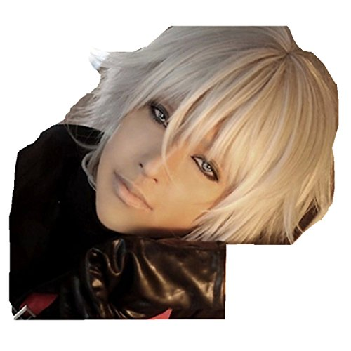 Devil May Cry 4 Nero cosplay costume wig
