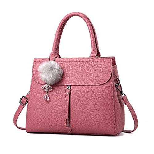Bag Shoulder Leather Bags Handbag Tote Leather Bags Women Women Bag pi Women Female For Messenger fen Women's Crossbody 1qwtpnx