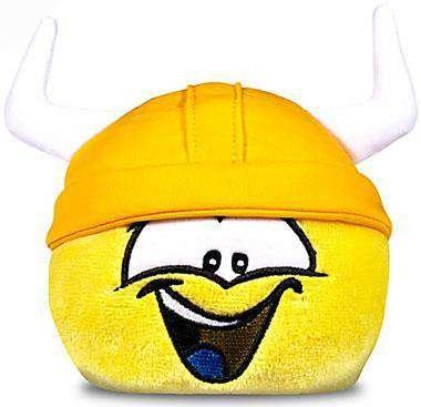 Viking Plush Hat (Club Penguin Series 11 Yellow Puffle 4