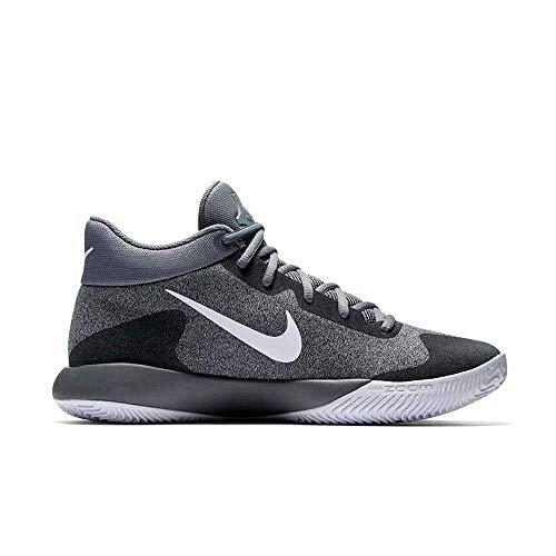 3966339fb88a Galleon - NIKE Men s KD Trey 5 V Basketball Shoes Cool Grey White-Wolf Grey- Black Size 9