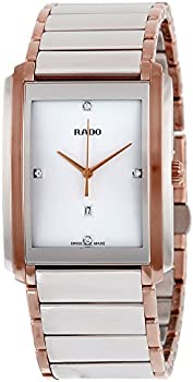 Rado Integral Mother of Pearl Dial Mens Quartz Watch