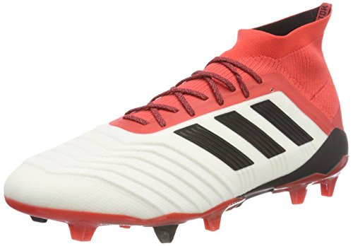 adidas Chaussures Blanc Homme 18 Core 1 White de Real Football Coral FG Predator Black Footwear Zxr8ApZ