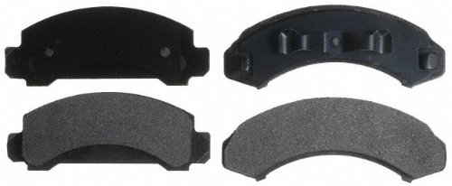 Raybestos SGD249M Service Grade Semi-Metallic Disc Brake Pad Set