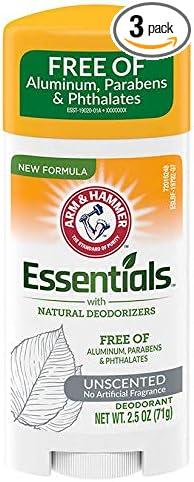 ARM & Hammer Essentials Solid Deodorant Unscented