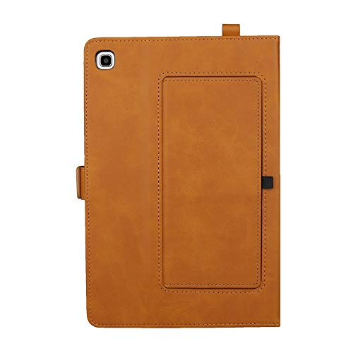 Yhuisen Premium PU Leather Double Stand Tablet Case Cover Compatible with Samsung Galaxy Tab A 8.0 inch 2019 SM-P200/SM-P205 (Color : Light Brown)