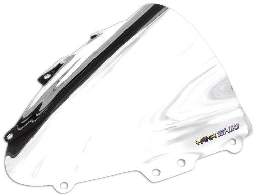 Yana Shiki SW-2002CSI R Series Chrome Silver Windscreen for Suzuki GSX-R 600/GSX-R 750 Chrome Windscreen