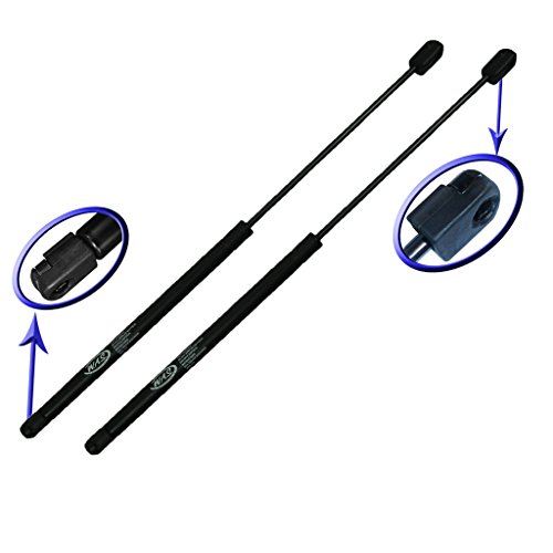 Model 123 - Two Front Hood Gas Charged Lift Supports for 2002-2010 Mercury Mountaineer, 2004-2010 Ford Explorers, 2002-2003 Ford Explorer 4 Door models. Left or Right Side. WGS-123-2