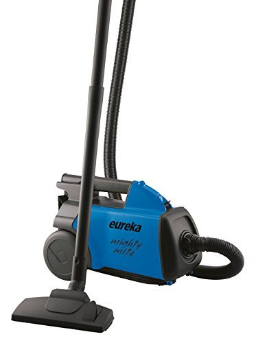 EUREKA Mighty Mite Bagged Canister Vacuum Cleaner, Pet, 3670H-Blue (Renewed)