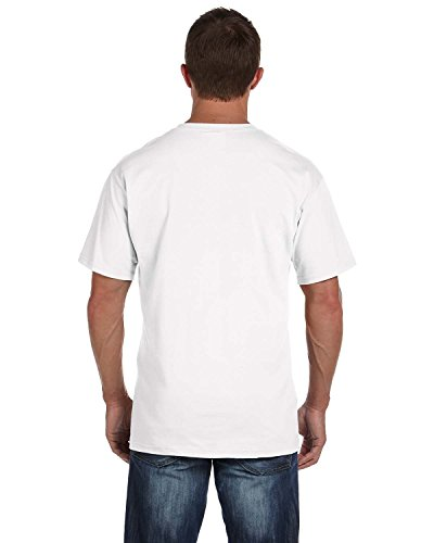- Fruit of the Loom Men's 4-Pack of Pocket T-Shirts, White, 2X (Pack of 4)