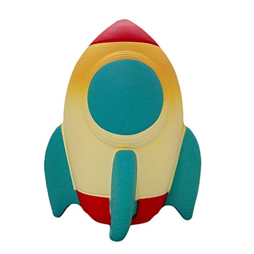 Ktyssp Cute Spun Slow Rising Scented Squeeze Stress Relief Rocket Toy