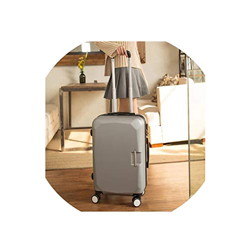 Fashion Wheels Suitcases And Travel Bags Valise Cabine Valiz Koffer Suitcase Maletas Carry On Rolling ()