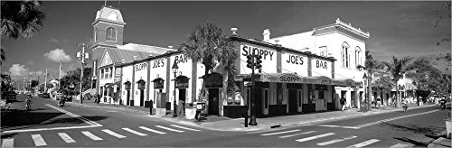 (Sloppy Joe's Bar Key West FL by Panoramic Images Laminated Art Print, 34 x 11 inches)