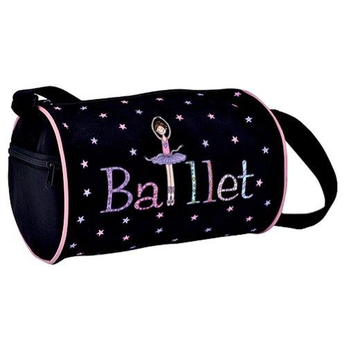 DansBagz by Danshuz Geena Ballerina Duffel O/S BLACK