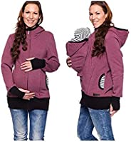 Multi-Function Three-in-one Kangaroo Mother Hooded Ladies Sweater Baby Carrier Detachable