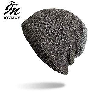 dea905bcb Joymay 2018 Two Way Wearing Winter Beanies Hat Disorderly Color ...