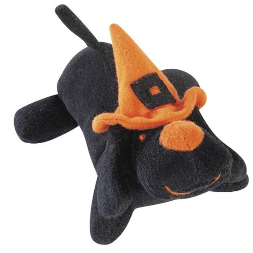 Zanies Spooky Lil Yelpers Dog Toy, Black, My Pet Supplies