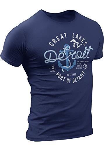 Port of Detroit T-Shirt by Detroit Rebels T Shirt Brand, Michigan Up North