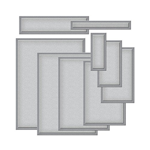 Rectangles Die Template - Spellbinders Nestabilities Card Creator Die Templates, A-2 Matting Basics B-S5-132