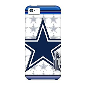5c Scratch-proof Protection Case Cover For Iphone/ Hot Dallas Cowboys Phone Case