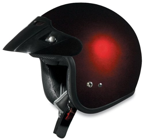 AFX FX-75 Solid Youth Helmet (Wine Red, Large) 0105-0013