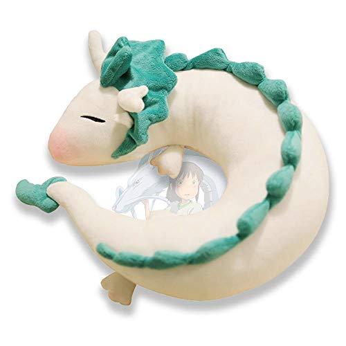 LAMONDE Japanese Anime Spirited Away Dragon Haku, No Face Faceless Man, Soot Sprite Stuffed Animal Body Plush (Haku)