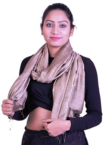 Linen Blend Scarf - Handcrafted Linen & Silk Blend, Soft, Airy, Light Scarf. X2104