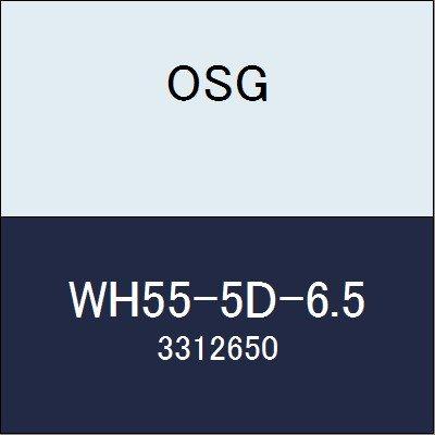 OSG 超硬ドリル WH55-5D-6.5 商品番号 3312650