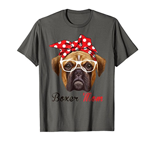 Boxer Dogs Mens T-shirt (Funny Boxer Mom Shirt for Women Men Boxer Dogs Lovers)