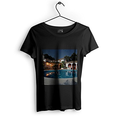 (Westlake Art Pool Home - Unisex Tshirt - Picture Photography Artwork Shirt - Black Adult Medium (None-FC208))