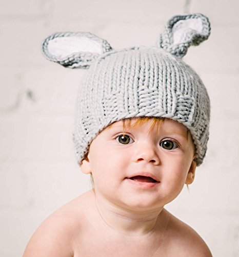 """The Blueberry Hill """"Bailey"""" Bunny Knitted Hat 