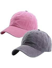 4920b48fa93ca Kids Distresed-Washed Baseball Hat