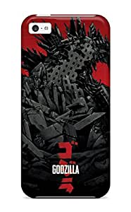 New Style Fashion Protective Godzilla Poster Pictures 2014 Case Cover For Iphone 5c 4826888K41620893