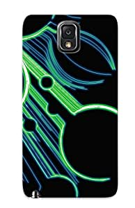 Exultantor Perfect Tpu Case For Galaxy Note 3/ Anti-scratch Protector Case (abstract Artistic)
