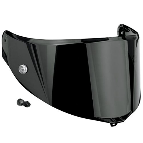 - AGV Anti-Scratch Shield for Pista Helmet - Race Dark Smoke KV0A7N1001