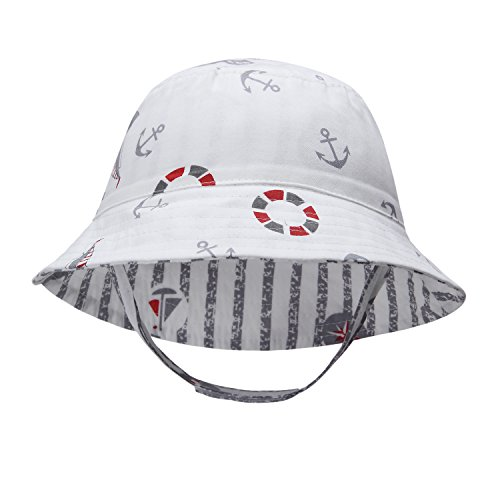 ba7fe2036dd Baby Boy Sun Hats Toddler Boy Bucket Hats Kid Sun Helmet 0-6years ...