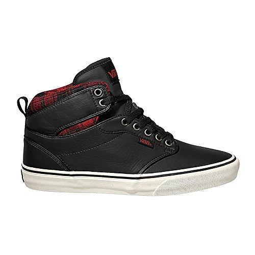 Vans ATWOOD HI VG3K8D hombre negro zapatos de cordones mediados 44