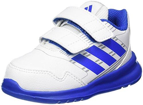 adidas Altarun CF, Baskets Mixte Bébé, Blanc (Ftwr White/Blue/Mid Grey), 24 EU