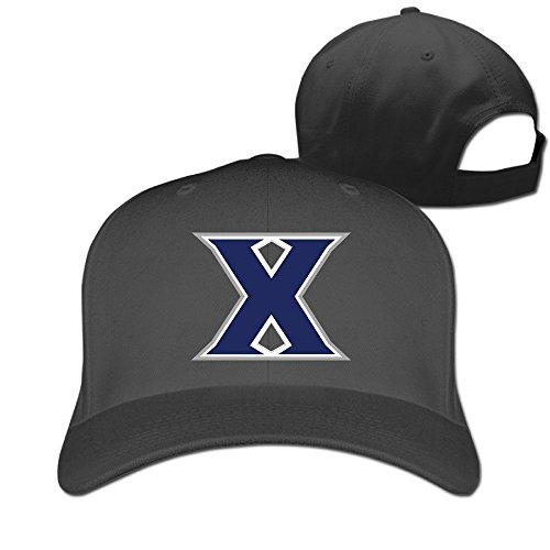 Football Game Time Trucker Hats (Custom Xavier University Cotton Adult Flat Hat Mesh Hat Gift)