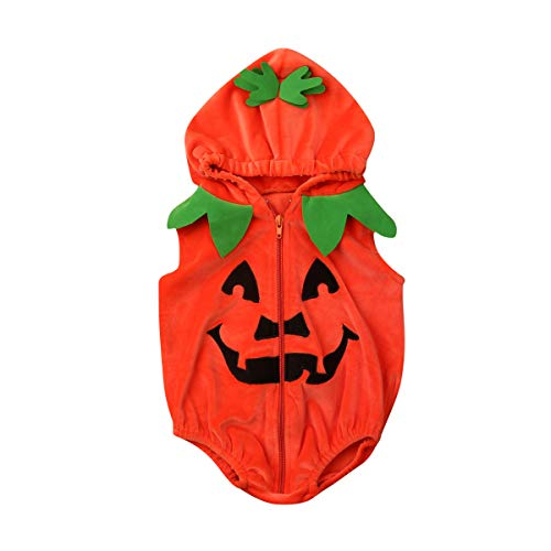 18 Month Old Pumpkin Costumes - Infant Toddler Baby Boys Girls Halloween