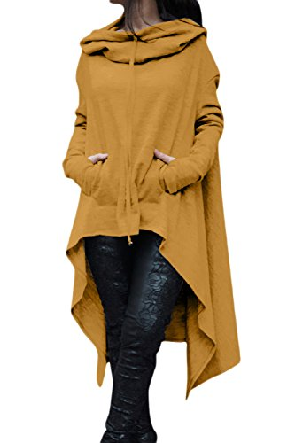 8 Plus Sweater Mujeres Round Size High Hooides Sudaderas Yulinge Neck Low  p8qvwwO 70e275e7f9b5