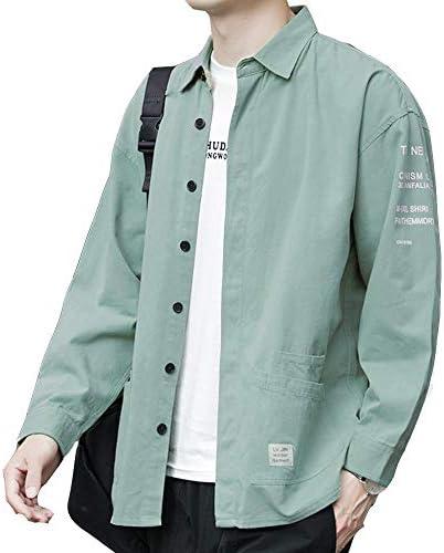 シャツ メンズ 秋服 長袖 オックスフォード シャツ メンズ 無地 春秋 大きいサイズ ファッション シャツ カジュアルシャ