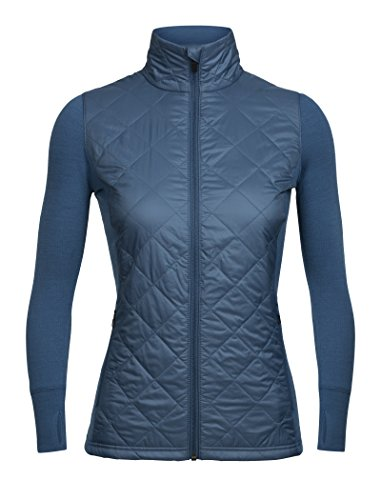 - Icebreaker Merino Women's Ellipse Jacket, Prussian Blue, Small