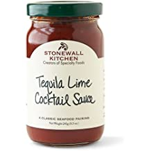 Stonewall Kitchen Gluten-free Tequila Lime Cocktail Sauce, 8.5 Ounces