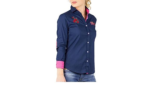 Piel de Toro 42142544 Camisa, Azul (Azul Marino 01), Large ...
