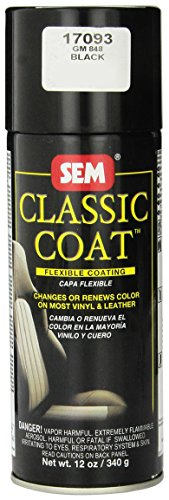 SEM 17093 Black Classic Coat - 12 oz. (Classic Coat)