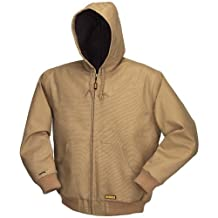 DEWALT DCHJ064B-2XL 20-Volt/12-Volt Max Hooded Heated Bare Jacket, XX-Large, Khaki